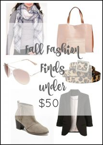 Fun Things to Jazz up your Fall Wardrobe (Under $50!)
