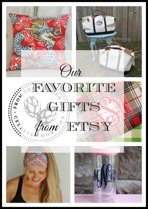 Our Favorite Unique Holiday Gift Ideas from ETSY and Small Business