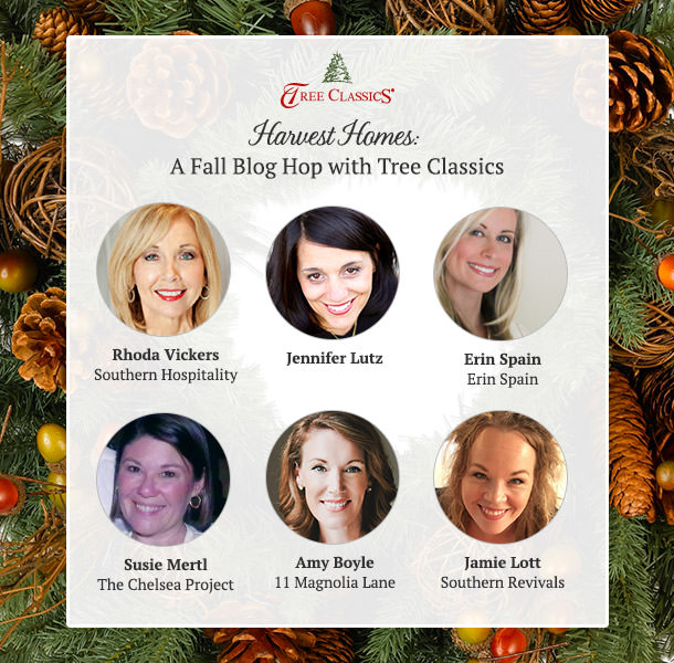 Tree Classics Harvest Home Blog Hop: Wreath Styling