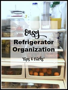 How To Organize Your Fridge {Tips & Tricks}