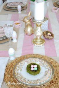 Easter + Spring Tablescape Blog Hop