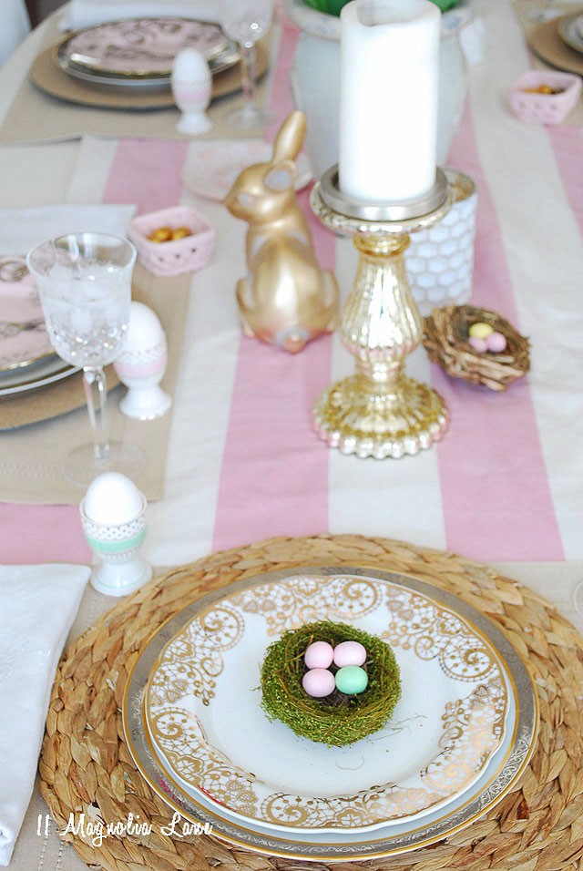 Easter + Spring Tablescape Blog Hop