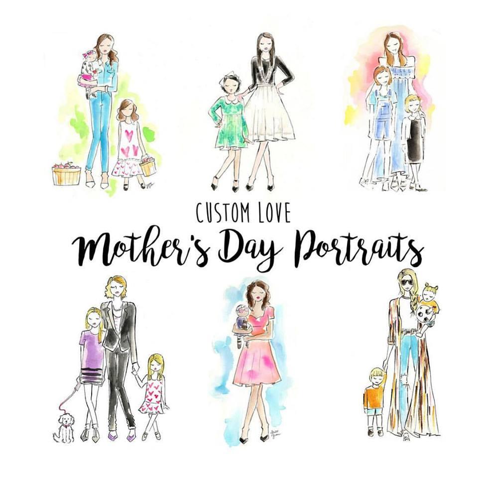 Custom Art Mother's Day Print