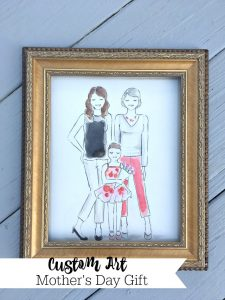 Custom Art for Mother's Day {My Best Gift Ever!}
