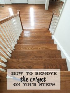 How to Remove the Carpet from Your Stairs