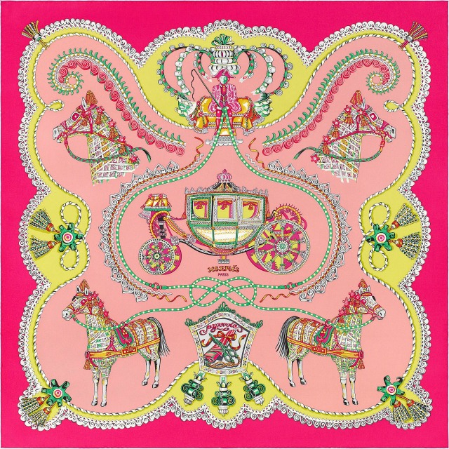 Hermes Paperoles Scarf