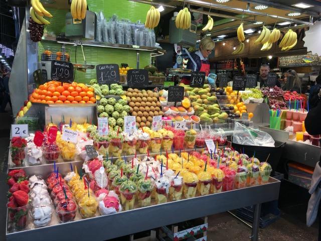 Madrid Spain Fruit Market