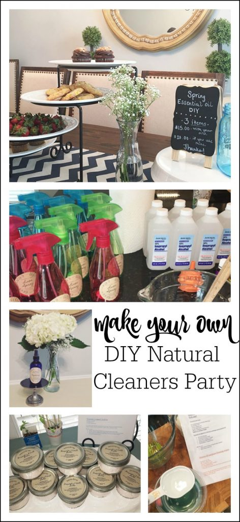 A Make Your Own DIY Natural Cleaners Party
