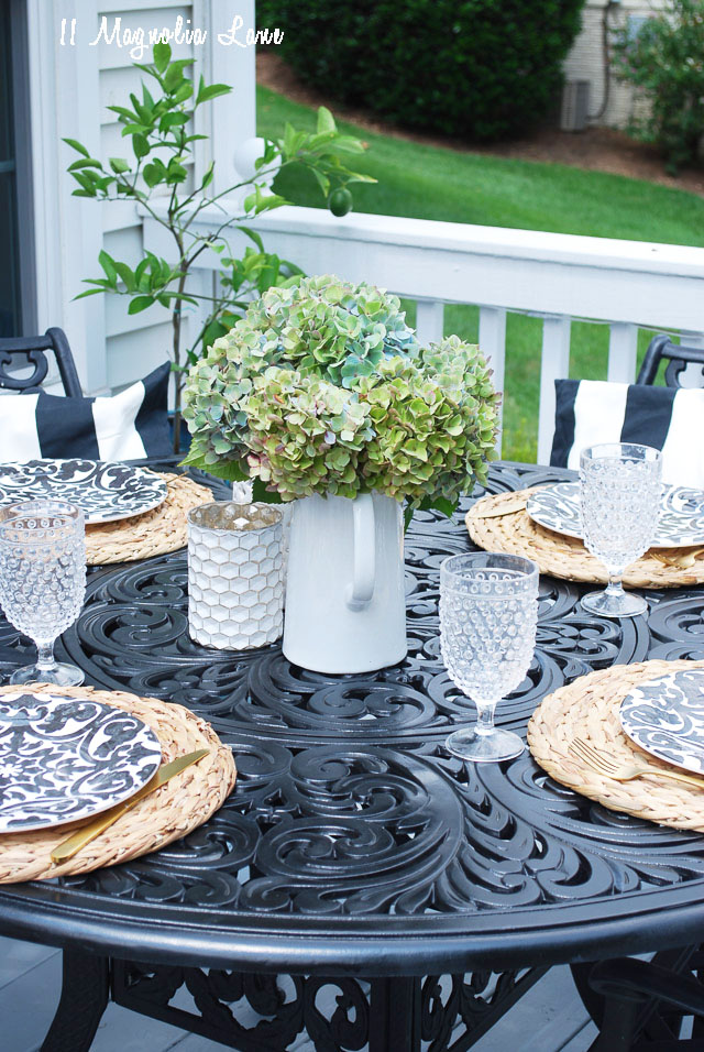 Save & Summer Porch + Outdoor Table Setting | 11 Magnolia Lane