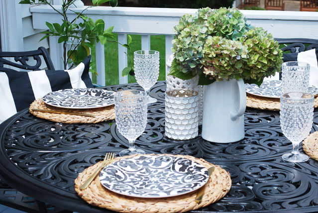 Summer Porch + Outdoor Table Setting   11 Magnolia Lane