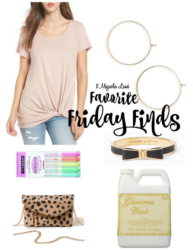 Favorite Friday Finds