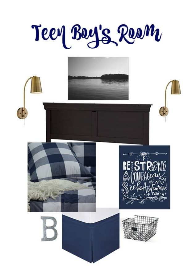 Teen Boys Room Makeover Inspiration