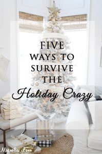 tons of great ideas to get organized so you can enjoy the holidays
