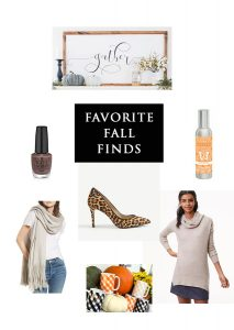 Friday Favorite Finds--Fall Things