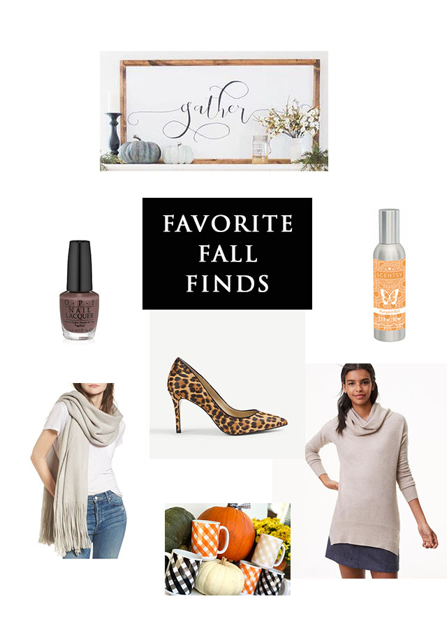 Friday Favorite Finds–Fall Things