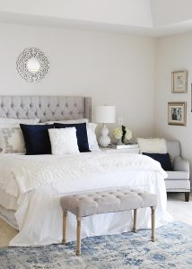 Winter Bedroom Refresh {and Affordable Headboard Options}