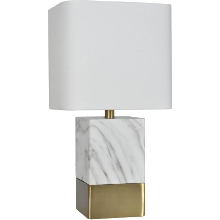 Faux marble lamp