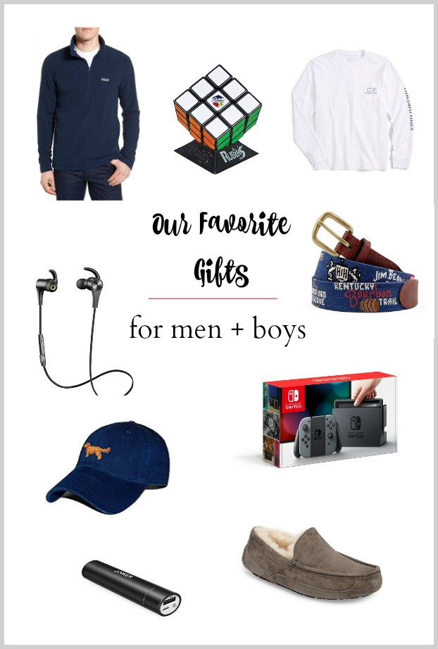 Our Gift Guide for Men and Boys
