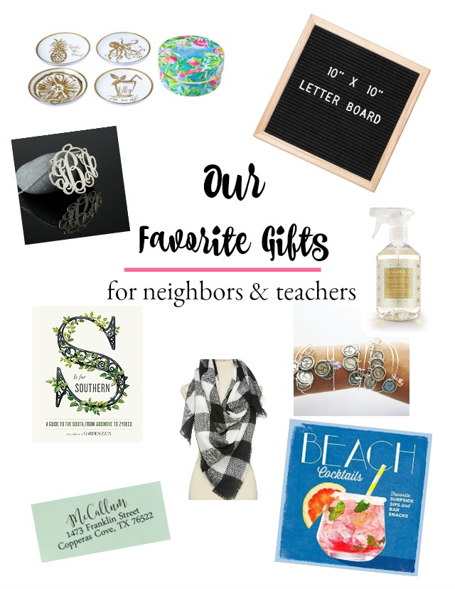 Our favorite gift ideas for teachers and neighbors