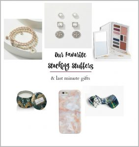 Stocking Stuffers + Last Minute Gift Ideas