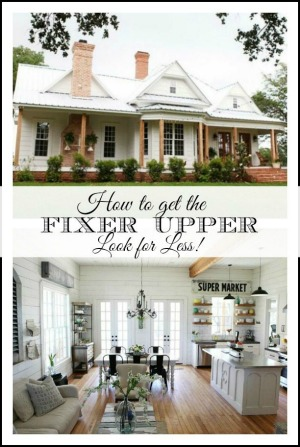 How to get the Fixer Upper look for less--our favorite sources for farmhouse decor | 11 Magnolia Lane