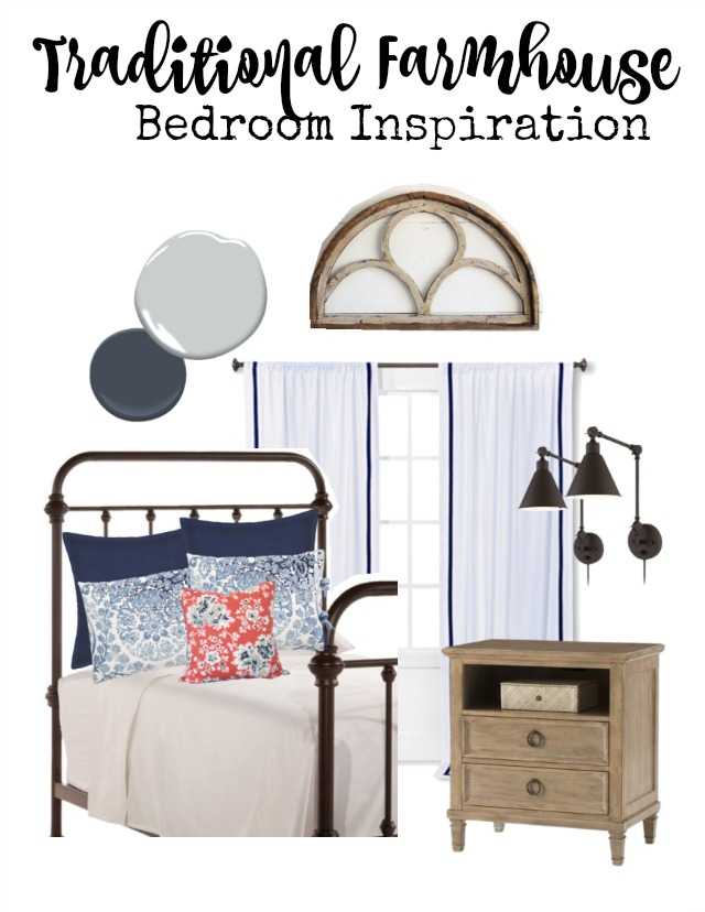 Traditional Farmhouse Bedroom Inspiration