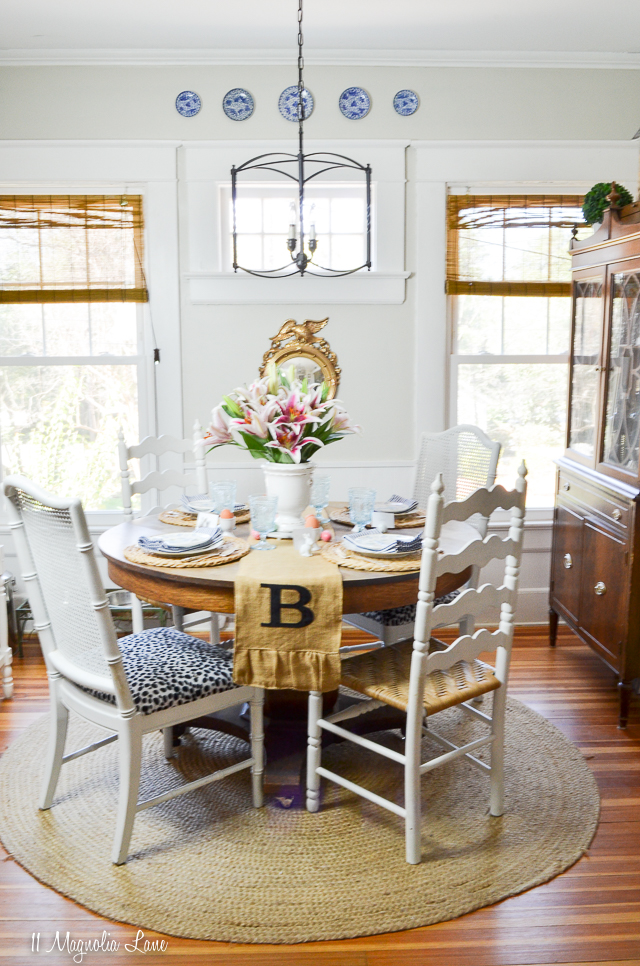 Our Spring Dining Room