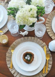 Beautiful Spring Tables Tour--An Easter Tablescape