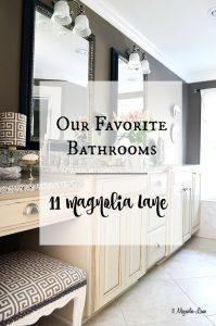 Our Favorite Bathrooms {bathroom inspiration} | 11 Magnolia Lane