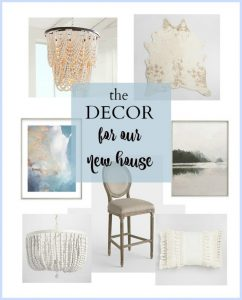 Affordable home decor items for a new home