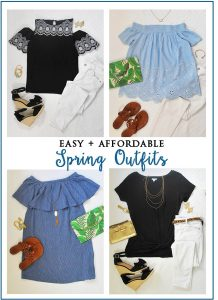 Easy, Affordable & Fun Spring Outfits