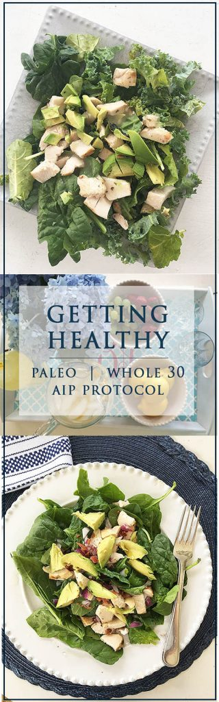 Get healthy, a diet/eating plan with Whole 30 AutoImmune Protocol with Paleo recipes, meal plans shopping list and more.