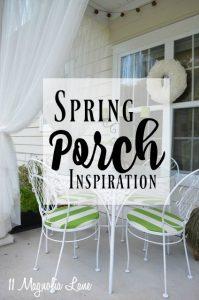 Spring Porch Inspiration