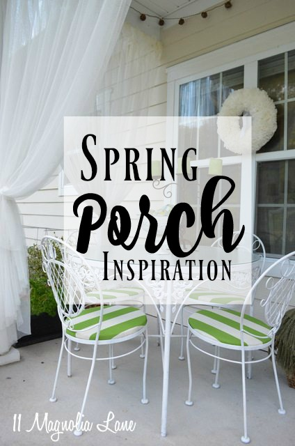 Decorating Ideas for Outdoor Porches and Seating Areas