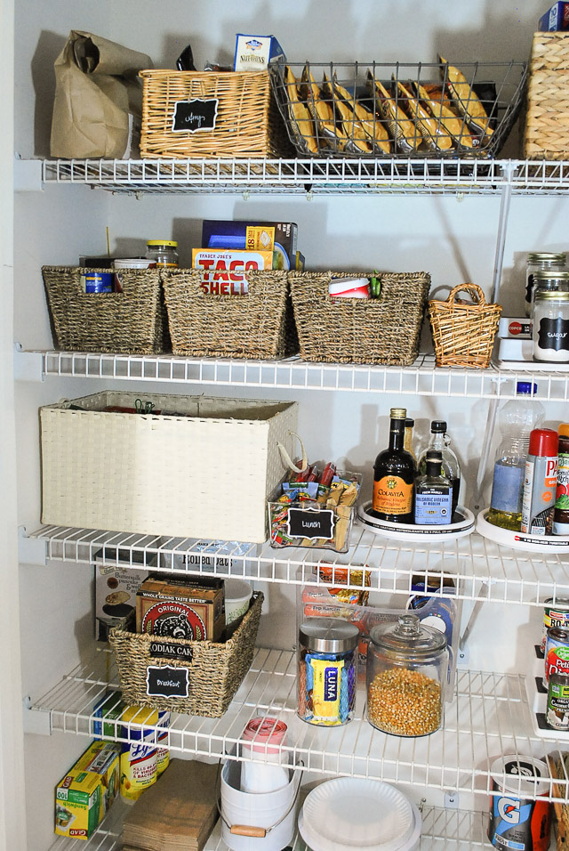 How To Organize A Reach In Pantry Organization For Bulk