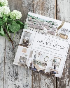 A beautiful book on french vintage home decor, with travel photos from France.