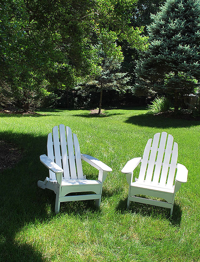 Saving Our Wood Adirondack Chairs with HomeRight