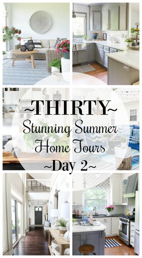 Thirty Stunning Summer Home Tours: Day 2