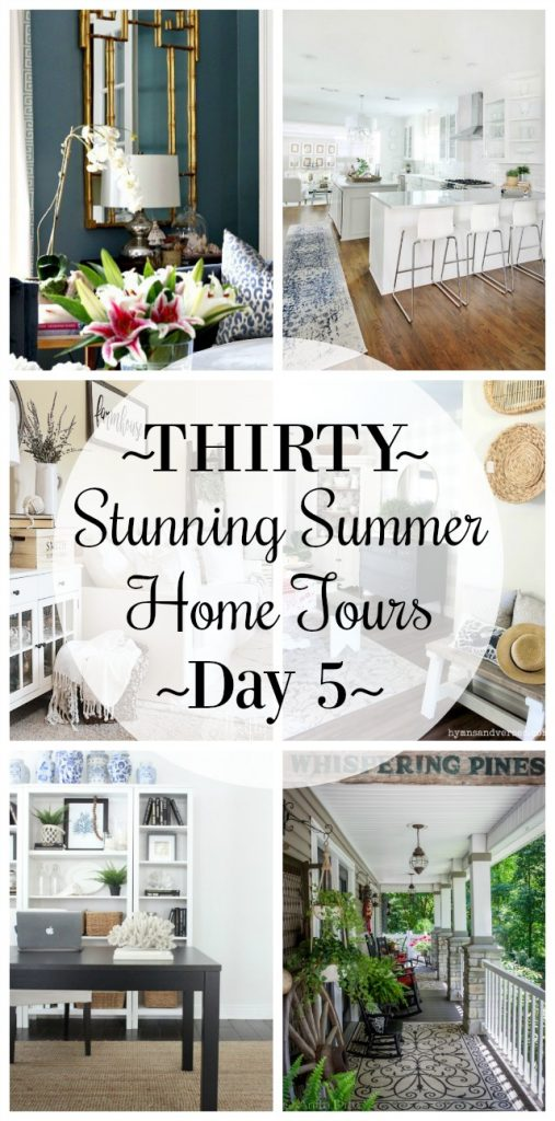Thirty Stunning Summer Home Tours: Day 5