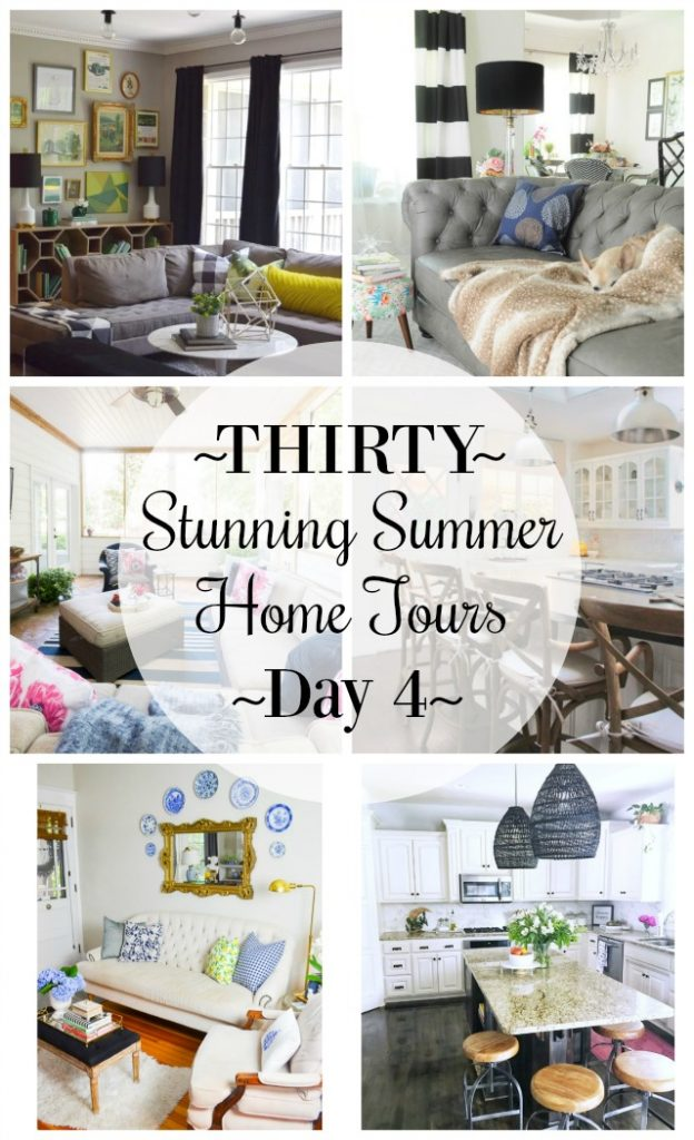 Thirty Stunning Summer Home Tours: Day 4