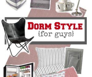 Dorm decor style ideas for guys | 11 Magnolia Lane