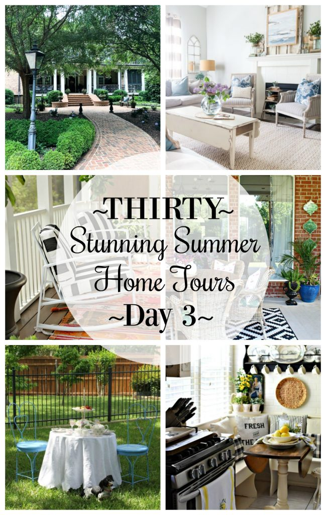 Thirty Stunning Summer Home Tours: Day 3