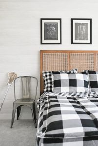 How To Get the Look of Shiplap Walls with Peel and Stick Wallpaper
