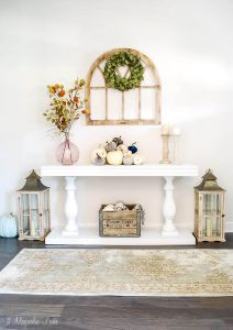 The Look for Less--Console Table Makeover & Sprayer Giveaway