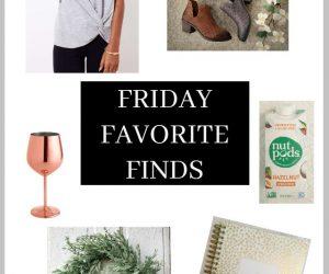 Friday Favorite Finds October 12 2018