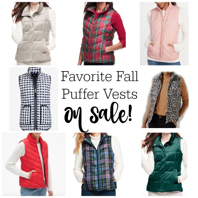 Favorite fall puffer vests: on sale! | 11 Magnolia Lane