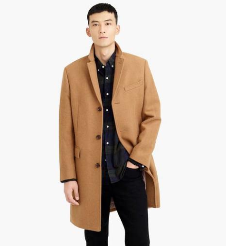 J Crew Wool Top Coat