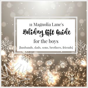 Holiday Gift Guide for The Boys: Husbands, Dads, Sons, Brothers, Etc.