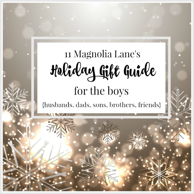 Our favorite gift ideas for guys, from super inexpensive stocking stuffers to splurge presents.  Tech, clothes, books, games, and sporting goods--we've got it all!
