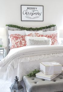 Christmas Decor Bedroom Tour